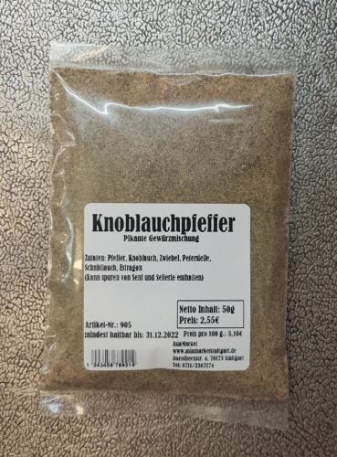 Knoblauchpfeffer, 50g, Indien
