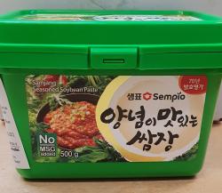 Samjang gewürzte Sojabohnenpaste, 500g, Korea, Sempio