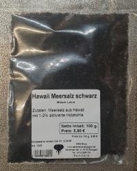 Hawaii Meersalz schwarz, 200g, Hawai