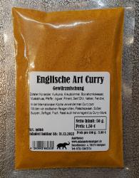 Curry Englischer Art, 50g, Deutschland
