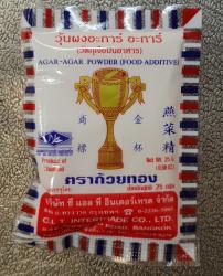 Agar Agar, 25g, Thailand, Golden Cup