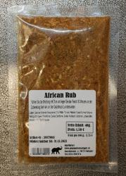African Rub, 40g, Deutschland