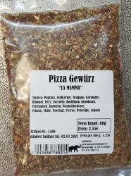 Pizza Gewürz, 60g, Deutschland