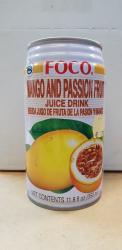 Mango - Passionsfrucht Nektar, 350ml, Thailand, FOCO